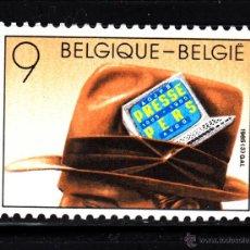 Sellos: BELGICA 2158** - AÑO 1985 - CENTENARIO DE LA ASOCIACIÓN DE PERIODISTAS BELGAS. Lote 210797771