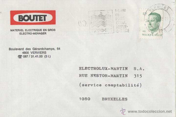 BELGICA. MATASELLOS ESPECIAL. VERVIERS 1985 (Sellos - Extranjero - Europa - Bélgica)