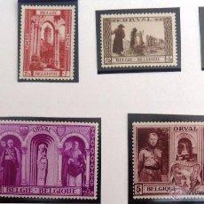 Sellos: SELLOS BELGICA 1939. NUEVOS SIN GOMA. ORVAL.. Lote 48385043