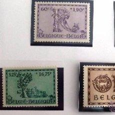 Sellos: SELLOS BELGICA 1943. NUEVOS. NO ENGOMADOS. ORVAL.. Lote 48385252
