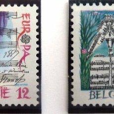 Sellos: SELLOS BELGICA 1985. NUEVOS. EUROPA. MUSICA.. Lote 48415554
