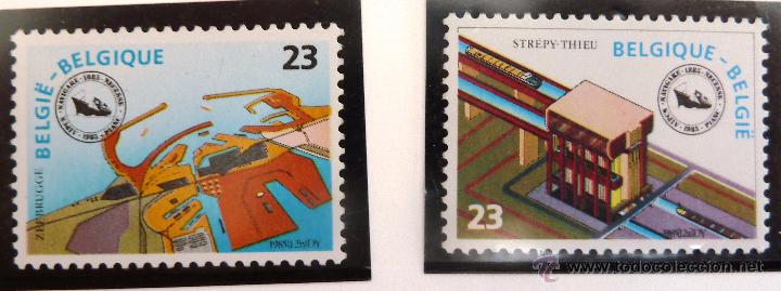 SELLOS BELGICA 1985. NUEVOS. (Sellos - Extranjero - Europa - Bélgica)