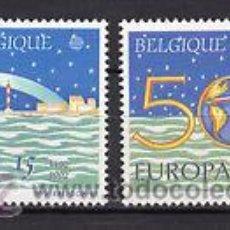 Sellos: BELGICA 1992 EUROPA NUEVOS SERIE 2454-55 LUJO MNH *** SC. Lote 48470047