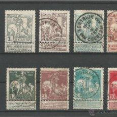 Sellos: 1910 - EXPOSICIÓN DE ARTE BELGA DEL SIGLO XVII - BELGICA. Lote 50214293