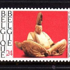 Timbres: BELGICA 2336** - AÑO 1989 - EUROPALIA 89 - DEDICADA A JAPON - ESCULTURA JAPONESA DEL SIGLO XIII. Lote 50910551
