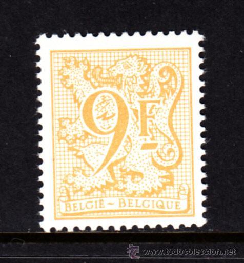 BELGICA 2159** - AÑO 1985 - ESCUDO DE BELGICA (Sellos - Extranjero - Europa - Bélgica)