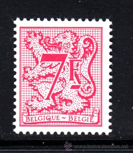 BELGICA 2052** - AÑO 1982 - ESCUDO DE BELGICA (Sellos - Extranjero - Europa - Bélgica)