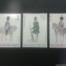 Sellos: SELLOS DE BÉLGICA. UNIFORMES. YVERT 2030/2. SERIE COMPLETA NUEVA SIN CHARNELA.. Lote 52644256