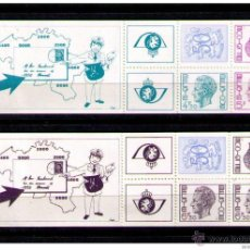 Sellos: BELGICA - 2 CARNETS - BOOKLET Nº C- 1768-71. Lote 53043529