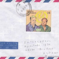 Sellos: SOBRE: 1991 BELGIQUE. BRUXELLES. Lote 54994079