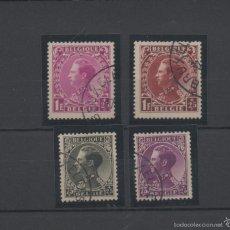 Sellos: BELGICA=YVERT Nº 390/93=LEOPOLDO III=AÑO 1934=CATALOGO:45 EUROS. Lote 57165491