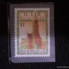 Sellos: BELGICA,,1984, BRUSSELS FREE UNIVERSITY 1V ___ NUEVO**. Lote 60372067