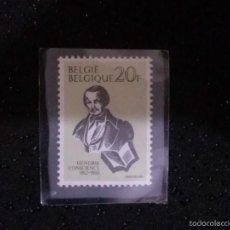 Sellos: BELGICA,,1983, HENDRIK CONSCIENCE 1V ____ NUEVO**. Lote 60373035