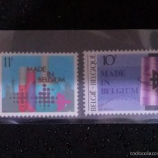 Sellos: BELGICA,,1983, EXPORT PROMOTION 2V ____ NUEVO**. Lote 60373423