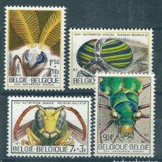 Sellos: BELGICA Nº 1610/3 (YVERT) AÑO 1971.. Lote 75531123