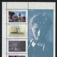 Sellos: BELGICA - FOTOGRAFIA BELGA - HB (2008) **. Lote 86284316