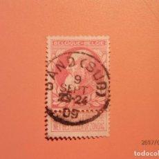 Sellos: BELGICA - III REY - ALBERTO I DE BELGICA - 1909.. Lote 99128139