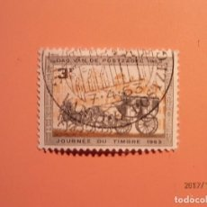 Sellos: BELGICA - 1963 - TRANSPORTE DEL CORREO - CARROZA DE CABALLOS.. Lote 99744155