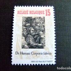 Sellos: BELGICA BELGIQUE BELGIË1993 DE HUMANI CORPORIS FABRICA (ANDREAE VESALII) YVERT 2527 ** MNH. Lote 100739927