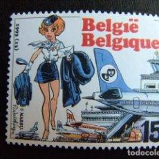 Sellos: BELGICA BELGIQUE BELGIË 1993 JEUGFILATELIE FILATELIA EN LA JUVENTUD YVERT 2528 ** MNH. Lote 100741403