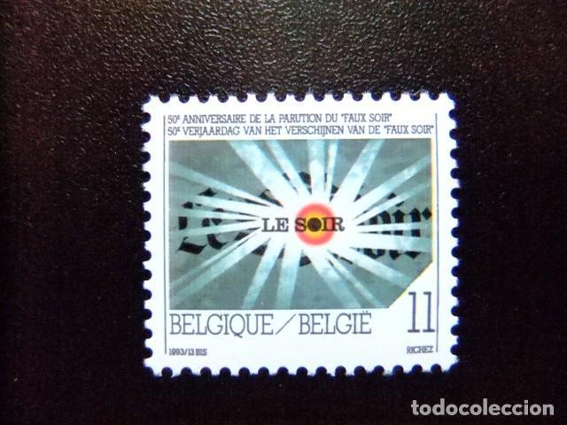 BELGICA BELGIQUE BELGIË 1993 50 VERJAARDAAG VAN (FAUX SOIR ) YVERT 2529 ** MNH (Sellos - Extranjero - Europa - Bélgica)