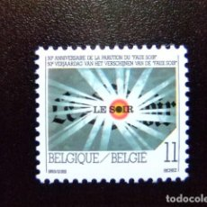 Sellos: BELGICA BELGIQUE BELGIË 1993 50 VERJAARDAAG VAN (FAUX SOIR ) YVERT 2529 ** MNH . Lote 100743435