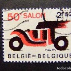 Sellos: BELGICA BELGIQUE 1971 YVERT N 1568 FU. Lote 101980067
