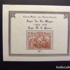 Sellos: BELGICA BELGIQUE 1964 ROGER DE LA PASTURE YVERT N BLOC 37 ** MNH. Lote 101981987