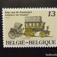Sellos: BELGICA BELGIQUE 1989 DIA DEL SELLO YVERT N 2322 ** MNH. Lote 102029955