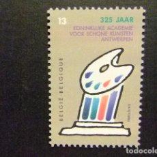 Sellos: BELGICA BELGIQUE 1989 BEAUX ARTS YVERT N 2325 ** MNH. Lote 102030167
