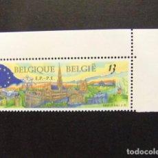 Sellos: BELGICA BELGIQUE 1989 VISTA DE BRUSELAS YVERT N 2326 ** MNH. Lote 102032919