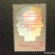 Sellos: BELGICA BELGIQUE 1989 EDUCACIÓN PERMANENTE YVERT N 2337 ** MNH. Lote 102034087