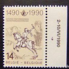 Sellos: BELGICA BELGIQUE 1990 CAVALIER DE LA POSTE YVERT N 2351 ** MNH. Lote 102035627