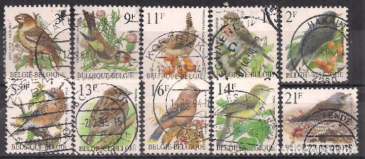 BELGICA 1985-1999 - USADO (Sellos - Extranjero - Europa - Bélgica)