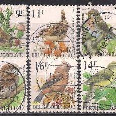 Sellos: BELGICA 1985-1999 - USADO. Lote 102775275