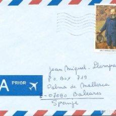 Sellos: 1996. BÉLGICA/BELGIUM. SOBRE CIRCULADO, SELLO RETRATO DE EMILE MAYRISCH. ARTE/ART. PINTURA/PAINTING.. Lote 108942751