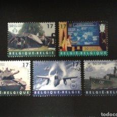 Sellos: BÉLGICA. YVERT 2809/13. SERIE COMPLETA NUEVA SIN CHARNELA. 50° DE LA OTAN. NATO.. Lote 114951086