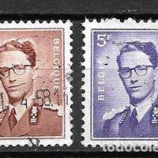 Sellos: BALDUINO I, REY BELGA. SELLOS EMIT. 1957. Lote 199267012