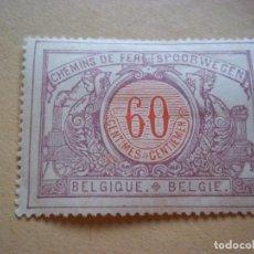 Sellos: SELLOS ANTIGUO BELGICA 60 CENTIMES NUEVOS CON GOMA. Lote 116220791