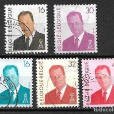 Timbres: ALBERTO II, REY BELGA. EMIT. AÑOS 1993/4. Lote 116740606