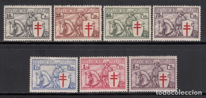 BÉLGICA , 1928 YVERT Nº 394 / 400 / ** / (Sellos - Extranjero - Europa - Bélgica)
