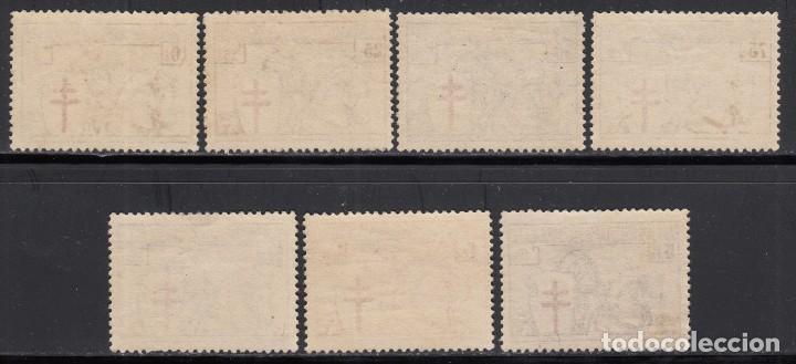 Sellos: BÉLGICA , 1928 YVERT Nº 394 / 400 / ** / - Foto 2 - 117869995
