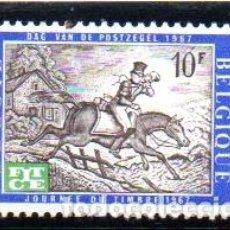 Timbres: BÉLGICA.- SELLO DEL AÑO 1967, SERIE COMPLETA, EN NUEVO. Lote 125830039