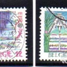 Sellos: BÉLGICA.- SELLOS DEL AÑO 1985, SERIE COMPLETA, EN USADO. Lote 126752815