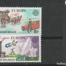Timbres: LOTE W SELLOS BELGICA SERIE COMPLETA NUEVOS EUROPA CPT. Lote 128244887