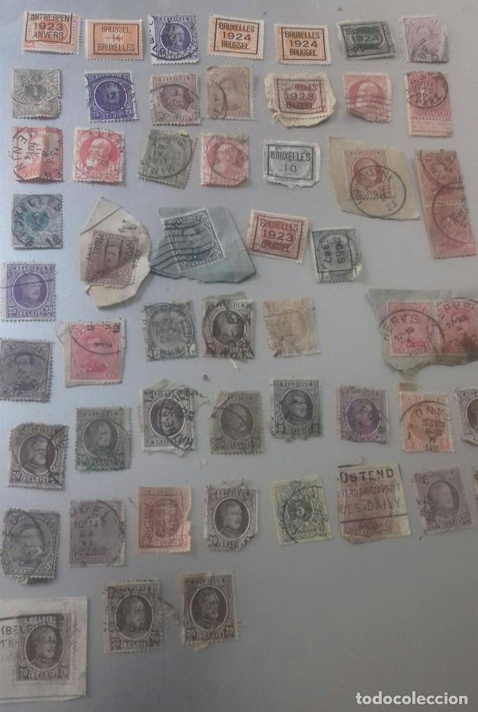 Sellos: LOTE 50 SELLOS BELGICA. MUY ANTIGUOS DE 1890 A 1930. USADOS . VER FOTOS - Foto 2 - 128711787