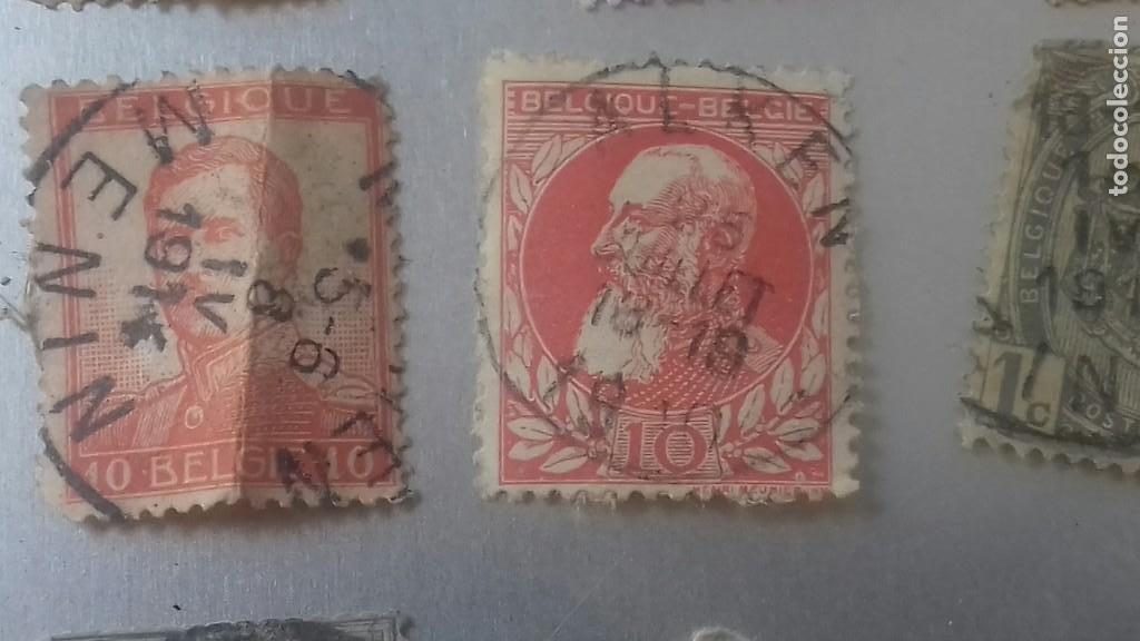 Sellos: LOTE 50 SELLOS BELGICA. MUY ANTIGUOS DE 1890 A 1930. USADOS . VER FOTOS - Foto 6 - 128711787