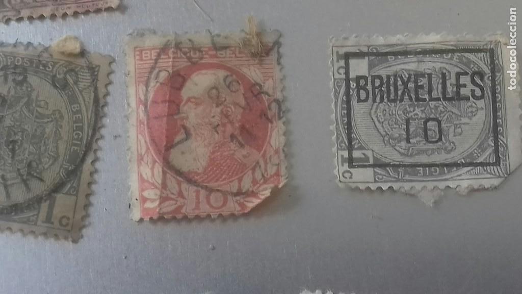Sellos: LOTE 50 SELLOS BELGICA. MUY ANTIGUOS DE 1890 A 1930. USADOS . VER FOTOS - Foto 7 - 128711787