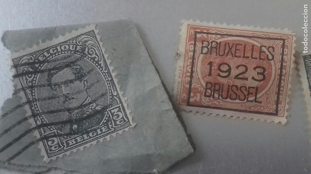 Sellos: LOTE 50 SELLOS BELGICA. MUY ANTIGUOS DE 1890 A 1930. USADOS . VER FOTOS - Foto 9 - 128711787