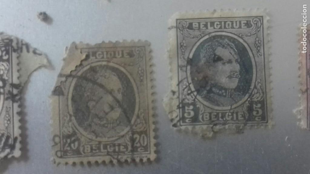 Sellos: LOTE 50 SELLOS BELGICA. MUY ANTIGUOS DE 1890 A 1930. USADOS . VER FOTOS - Foto 16 - 128711787